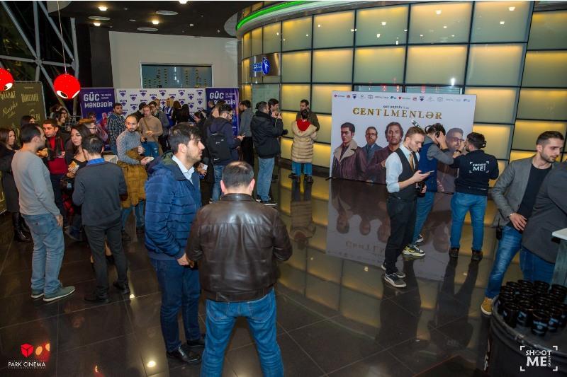 Закрытый показ фильма «Джентльмены» Гая Ричи в Баку