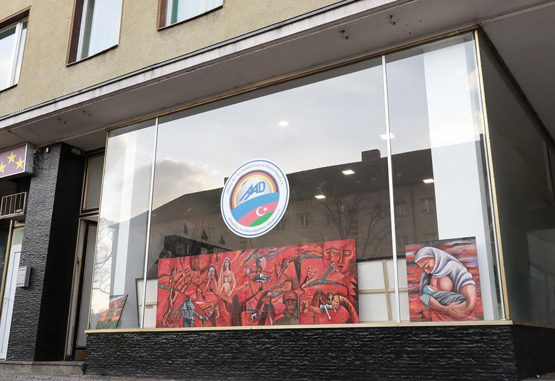 Berlində Xocalı soyqırımına həsr olunan sərgi açıldı