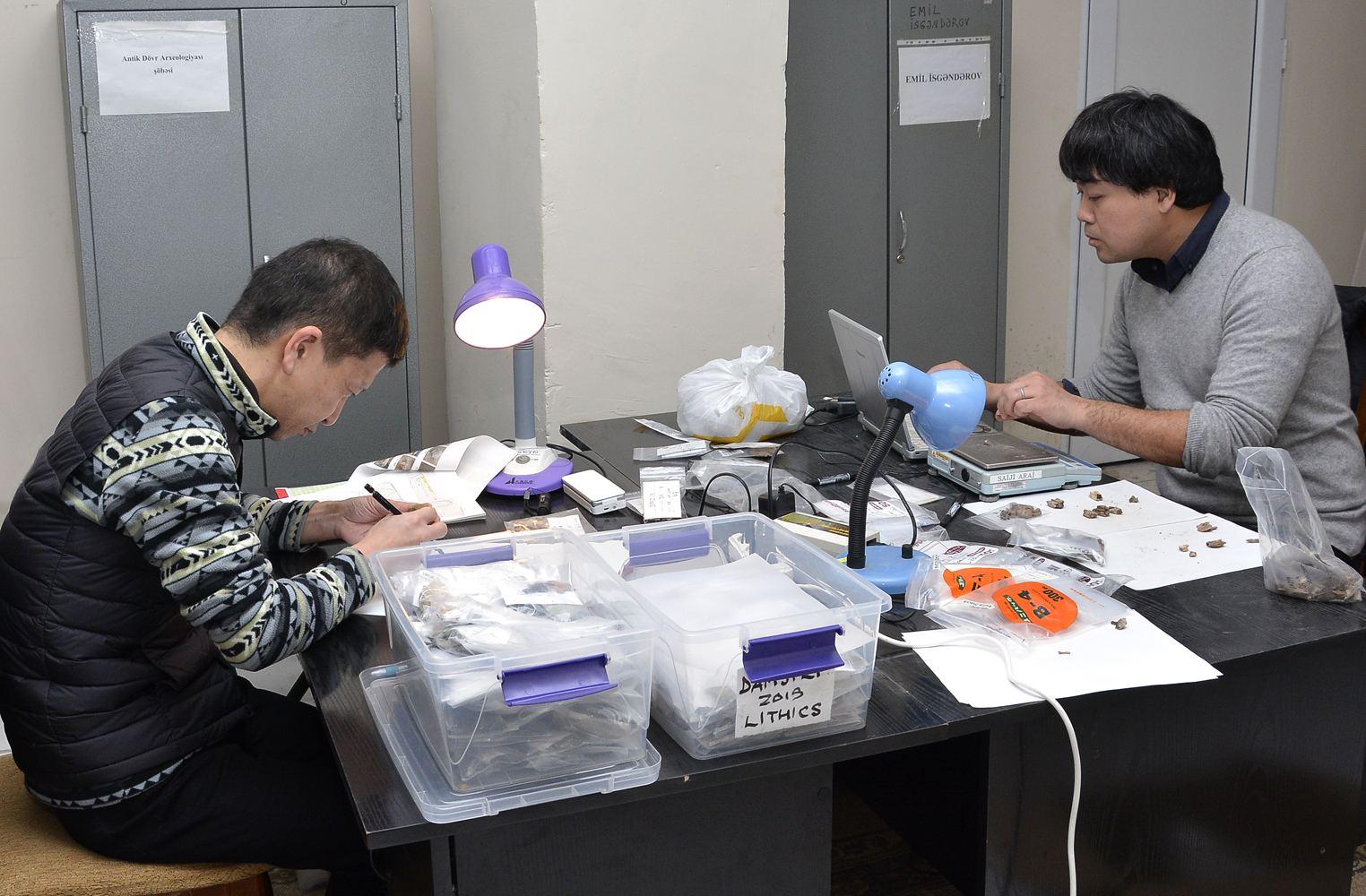 Японские археологи проводят исследования в Азербайджане
