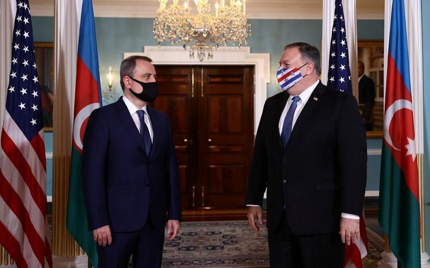 В Вашингтоне cостоялась встреча главы МИД Азербайджана и Госсекретаря США