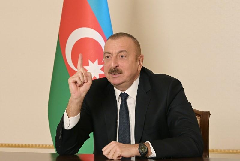 Президент Азербайджана поздравил народ с освобождением Кельбаджара от оккупации