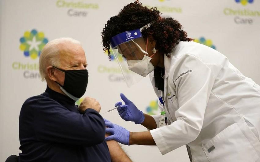 Байден вакцинировался от коронавируса