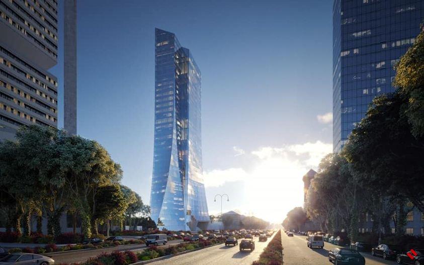 Новое административное здание Центробанка Азербайджана будет состоять из 37 этажей - Tekfen
