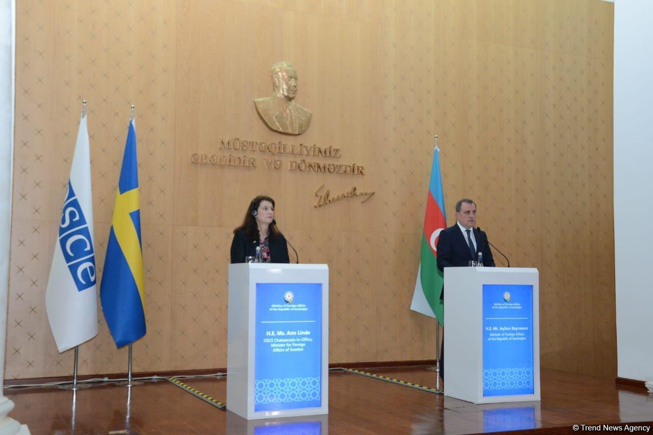 Глава МИД Азербайджана: Мы за завершение работы по соглашению с ЕС и вступление его в силу