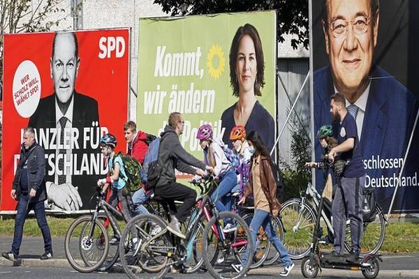 В Германии проходят выборы в Бундестаг