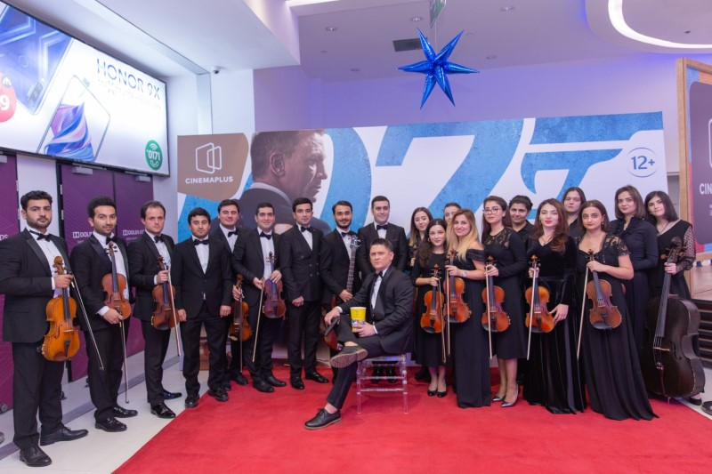 В Баку прошла презентация фильма о Джеймсе Бонде