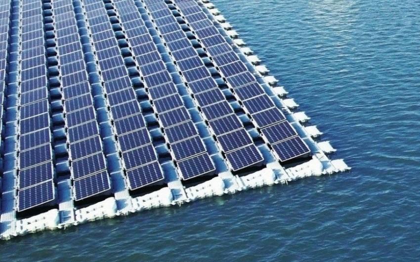 Плавучая СЭС на озере Беюкшор будет сдана в эксплуатацию в 2022 году
