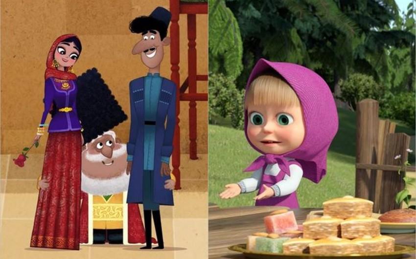 Новая серия мультфильма «Маша и Медведь» посвящена Азербайджану