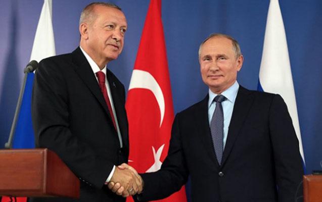Президент России: Часто расходятся взгляды с Эрдоганом, но он держит слово